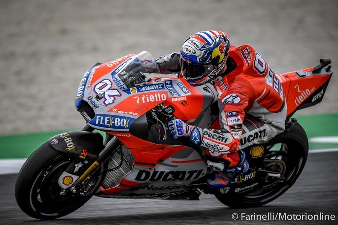 """MotoGP   Gp Mugello Qualifiche: Dovizioso, """"Potrebbe essere una gara di gruppo"""""""