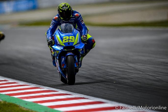 """MotoGP   Gp Barcellona FP4: Iannone al comando, Marquez """"salvataggio"""" da urlo"""
