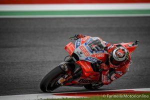 MotoGP   Gp Mugello Gara: Lorenzo domina, Dovizioso e Rossi sul podio