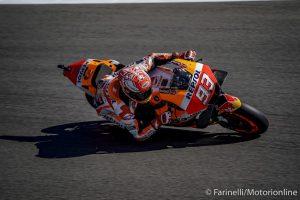 MotoGP | Gp Assen Qualifiche: Pole per Marquez, Rossi in prima fila