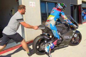 Moto2 | Per la prima volta in pista i motori Triumph con centralina Magneti Marelli