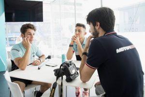 """Moto3   Intervista doppia a Enea Bastianini e Lorenzo Dalla Porta: """"Ci rispettiamo"""""""