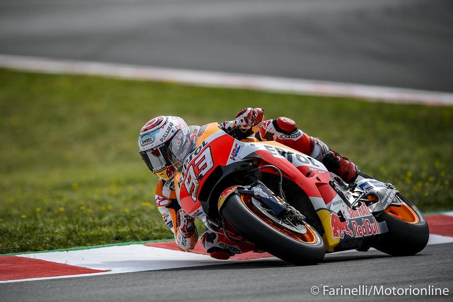 """MotoGP   Gp Barcellona Qualifiche: Marquez, """"Partire davanti ci permette di lottare per la vittoria"""""""
