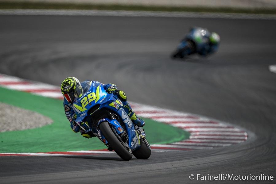 MotoGP   Test Barcellona Mattina: Iannone al comando, Rossi tredicesimo