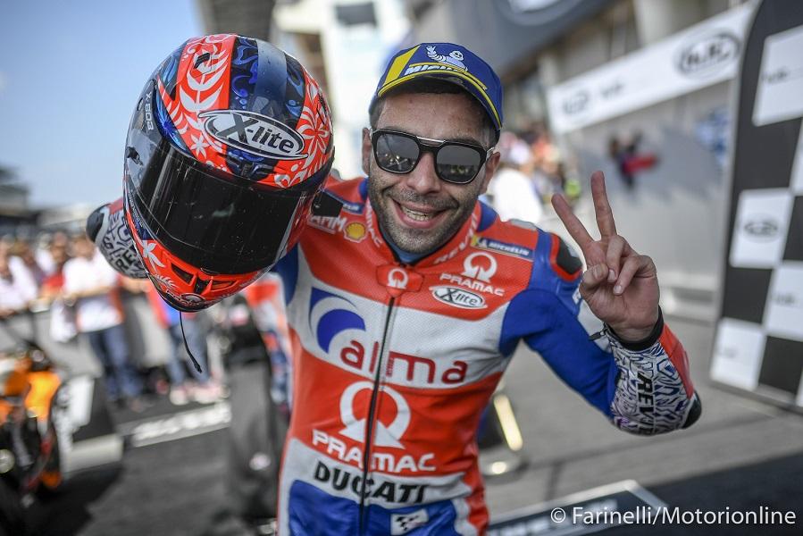MotoGP   Il team Ducati Pramac saluta Danilo Petrucci