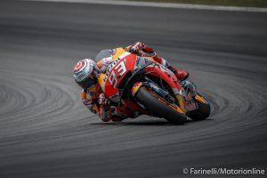 MotoGP | Test Barcellona: Marquez si prende la vetta a fine giornata