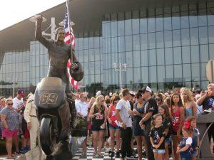 MotoGP | Una statua in onore di Nicky Hayden