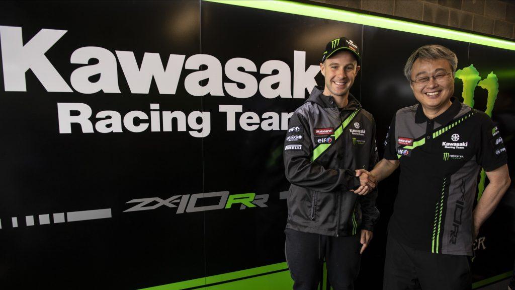 SBK   Jonathan Rea rinnova con Kawasaki