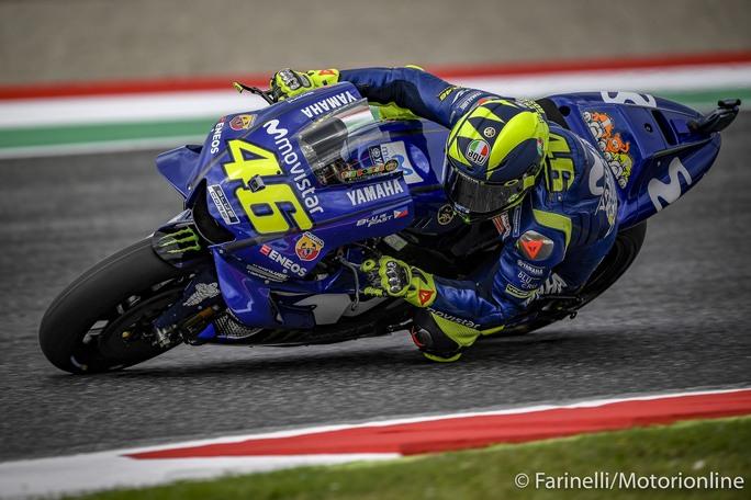 MotoGp, Valentino Rossi da sogno al Mugello