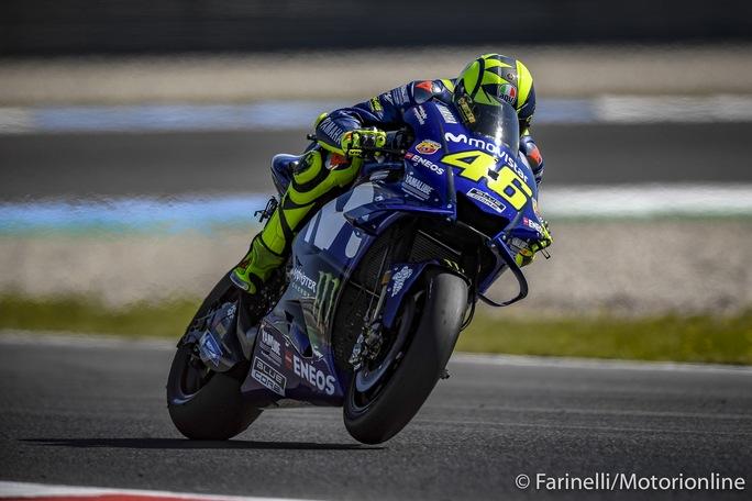 "MotoGP   Gp Assen Qualifiche: Rossi, ""Prima fila speciale"""