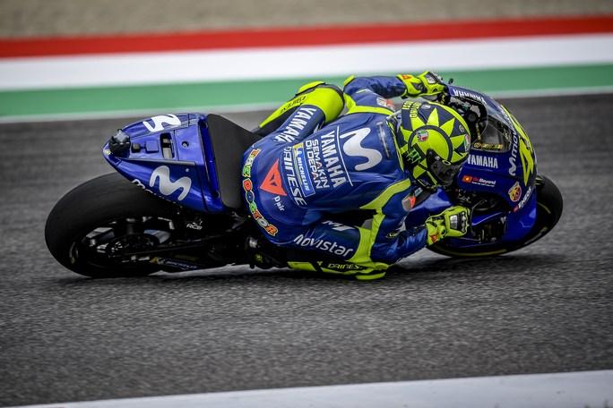 """MotoGP   Gp Mugello Day 1: Rossi, """"Giornata positiva. La caduta di Pirro? E' andata molto bene"""""""