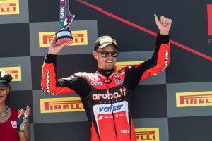 SBK | Pirelli Riviera di Rimini Round, Gara1: secondo posto per Davies