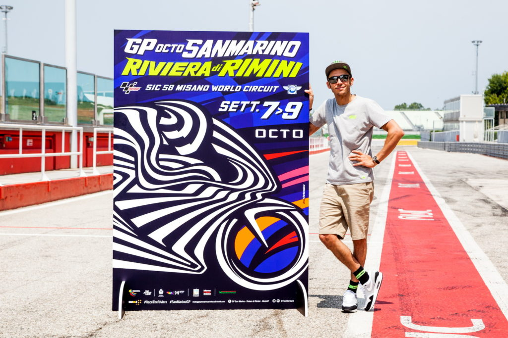 MotoGP | Presentato il poster del Gran Premio di San Marino e della Riviera di Rimini