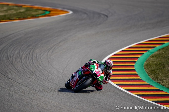 MotoGP   Gp Germania: Aleix Espargarò non prenderà parte alla gara