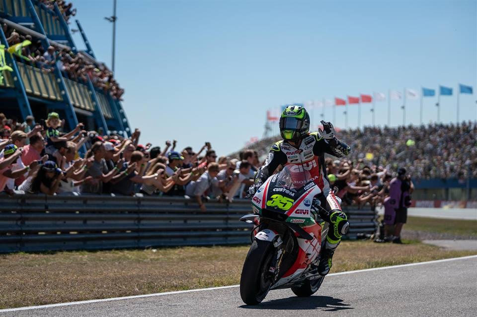 "MotoGP | Gp Assen Gara: Crutchlow, ""Corsa rovinata dagli ultimi due giri"""