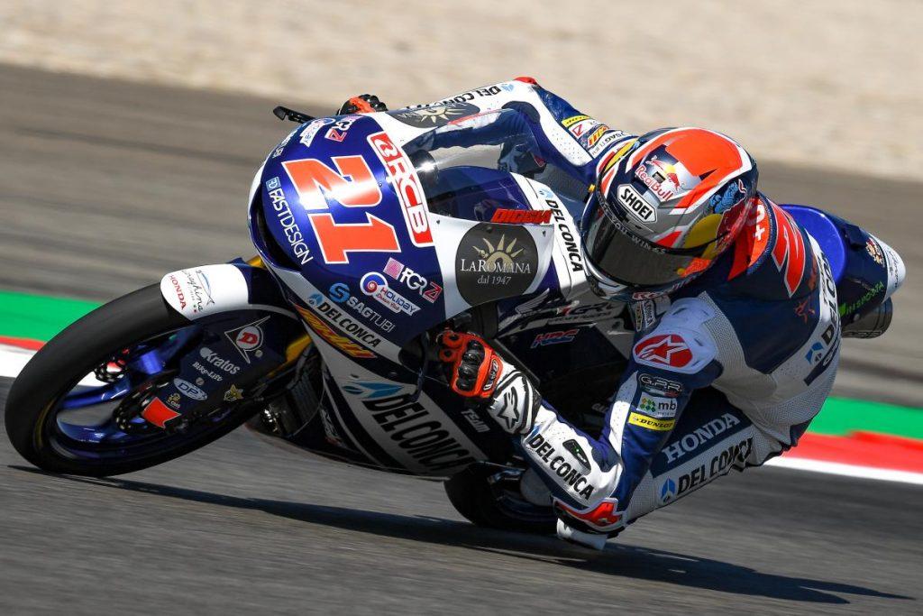 "Moto3 | GP Assen Gara: Di Giannantonio, ""E' andata male"""