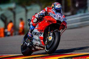MotoGP | Gp Germania FP4: Dovizioso davanti a Iannone, Rossi è nono