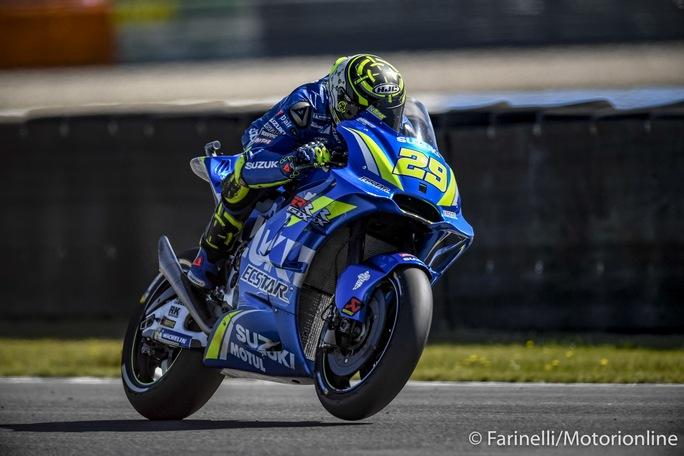 MotoGP | Gp Sachsenring FP1: Iannone è il più veloce, Rossi è terzo