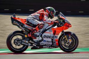 "MotoGP | Gp Assen Gara: Lorenzo, ""La perdita di grip al posteriore ci ha rallentato"""