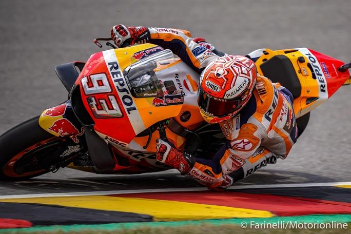MotoGP   Gp Sachsenring Gara: Nona sinfonia per Marquez, Rossi è secondo