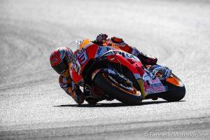 MotoGP | Gp Assen Warm Up: Marquez è il più veloce, segue Dovizioso, Rossi è nono