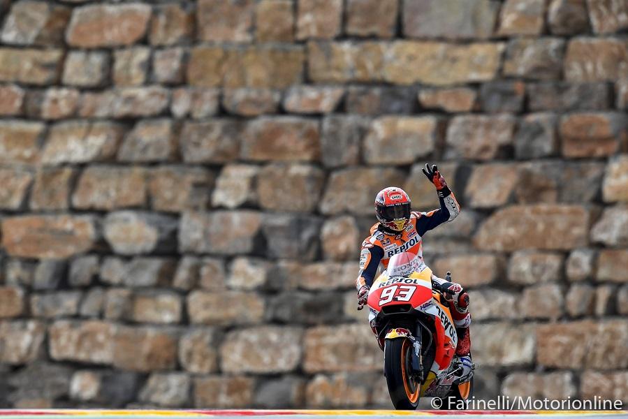 MotoGP | Il Motorland di Aragon intitola una curva a Marc Marquez
