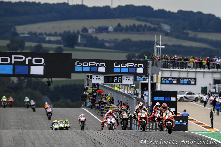 MotoGp Germania, Rossi: