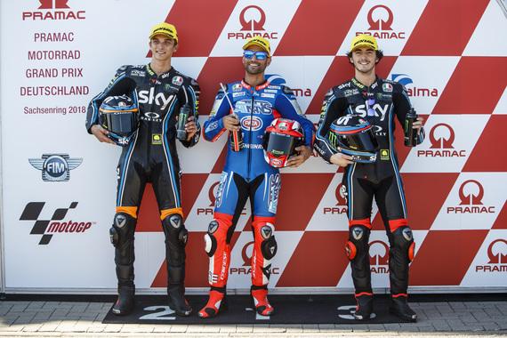 """Moto2   GP Sachsenring Qualifiche: Marini, """"Buone sensazioni alla guida"""""""