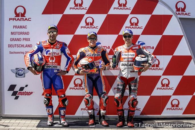 MotoGP Gp Sachsenring: Sunday Guide, statistiche pre-evento