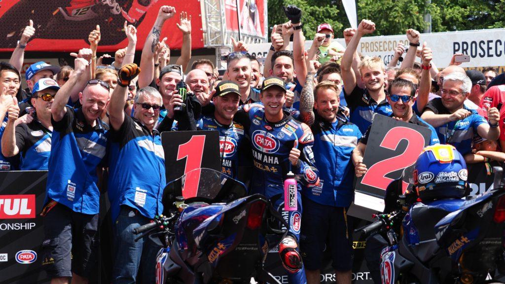 SBK   Lowes e Van der Mark rinnovano con Yamaha