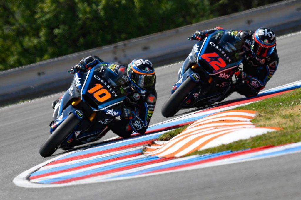 """Moto2   GP Brno Day 1: Bagnaia, """"Ritorno in pista abbastanza positivo"""""""