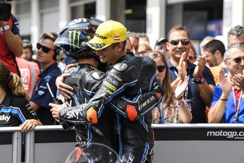 "Moto2 | GP Austria Gara: Bagnaia, ""Una bellissima vittoria"""