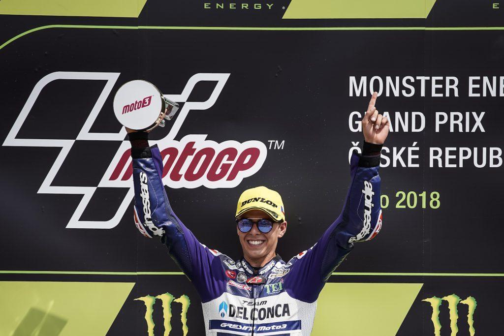Moto3: la prima volta di Di Giannantonio