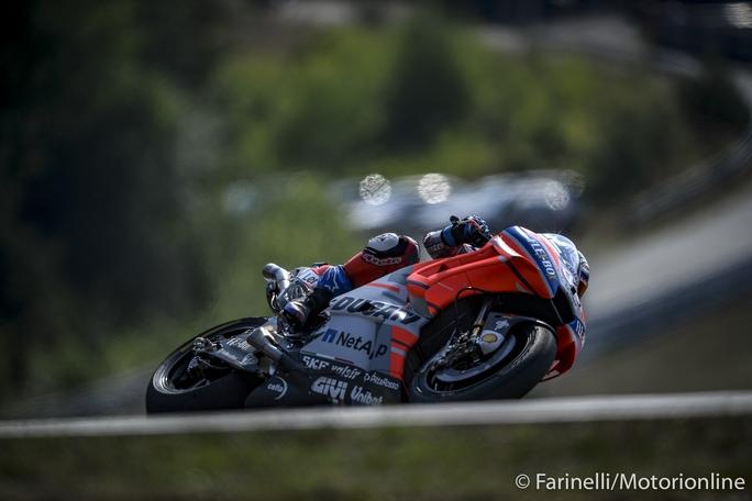 MotoGP | Gp Austria FP1: Monopolio Ducati con Dovizioso, Lorenzo e Petrucci, crisi Yamaha [Video]