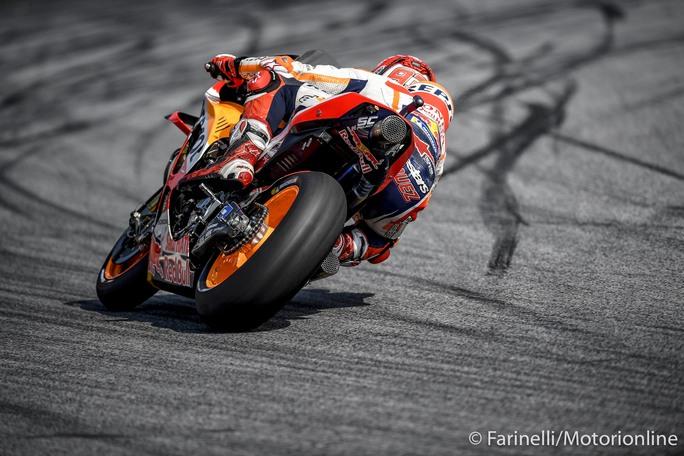 MotoGP   Gp Austria Qualifiche: Pole per Marquez, Ducati battute