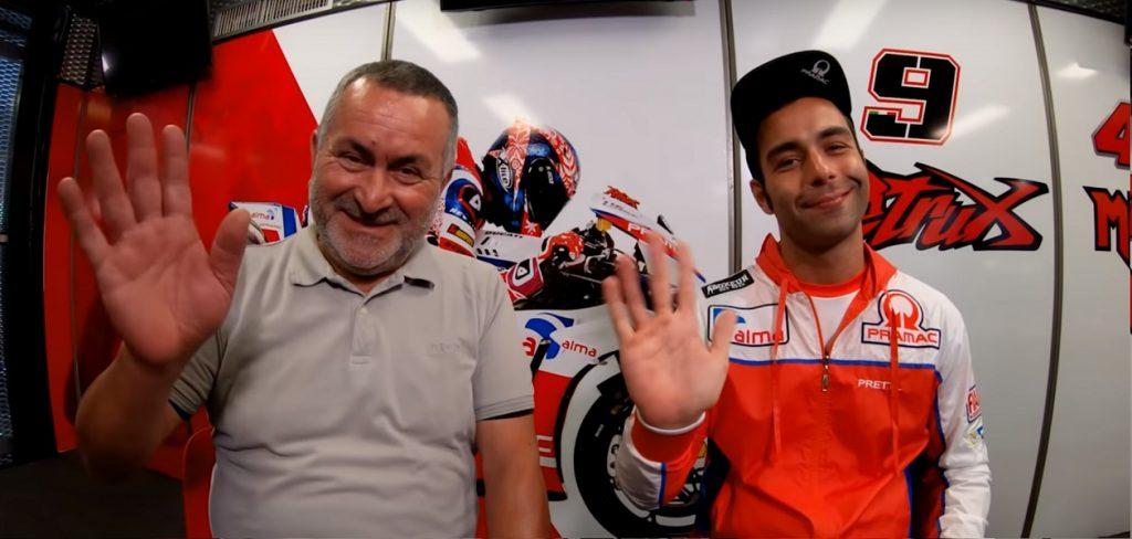MotoGP | Petrux Vs Petrucci, ovvero, la storia di padre e figlio [Video]