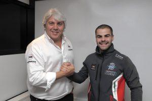 Moto2   Ufficiale, Romano Fenati con MV Agusta Forward nel 2019