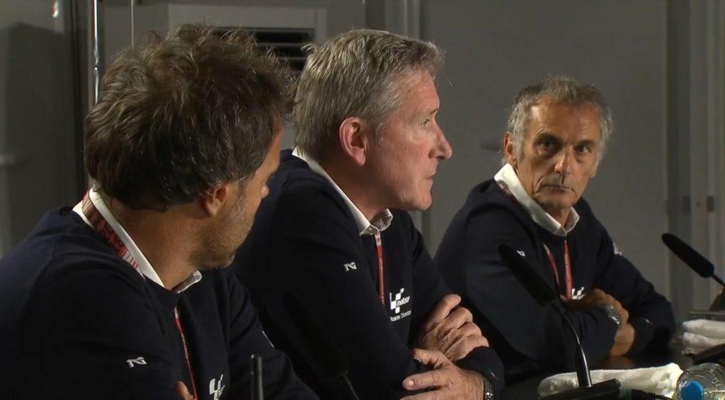 """MotoGP   Gp Silverstone: Webb (Direttore di gara), """"Sono stati fatti tutti gli sforzi per rendere la pista sicura ma non si può battere la natura"""""""