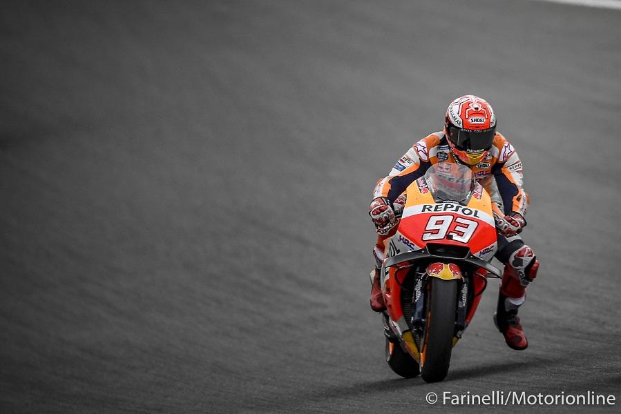 MotoGP | Test Brno: Marquez chiude al comando, Dovizioso quarto, Rossi settimo