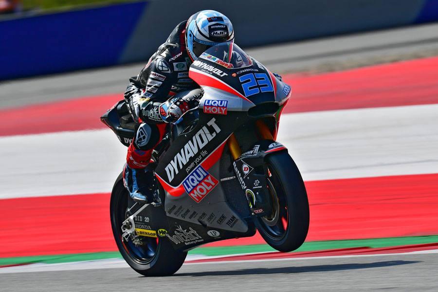Moto2 | Gp Austria Warm Up: Schrotter è il più veloce, Bagnaia è quarto