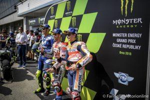 MotoGP Gp Brno: Sunday Guide, statistiche pre-evento