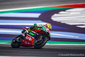 """MotoGP   Gp Misano Gara: A.Espargarò, """"La corsa è stata senza dubbio la sessione migliore del weekend"""""""