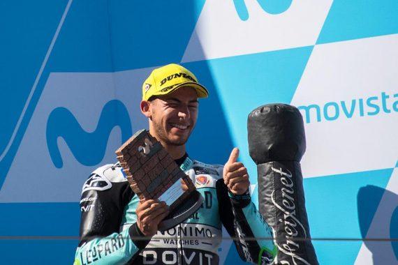 """Moto3   GP Aragon Gara: Bastianini, """"Potevamo vincere la gara"""""""