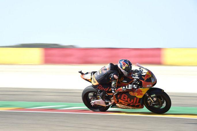 Moto2 | Gp Aragon Gara: Vittoria di Binder, Bagnaia e Baldassarri sul podio