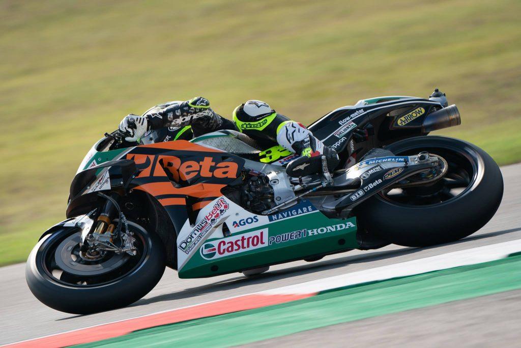 "MotoGP   GP Misano Day 1: Crutchlow, ""Sensazioni positive"""