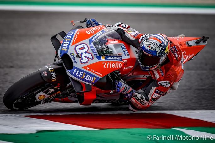 MotoGP | Gp Aragon FP1: Poker Ducati, Dovizioso davanti a Petrucci, Miller e Lorenzo