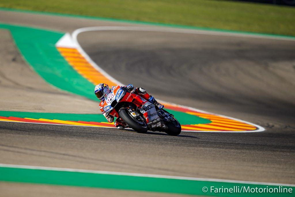 """MotoGP   Gp Aragon Qualifiche: Dovizioso, """"Possiamo giocarci la vittoria"""" [Video]"""