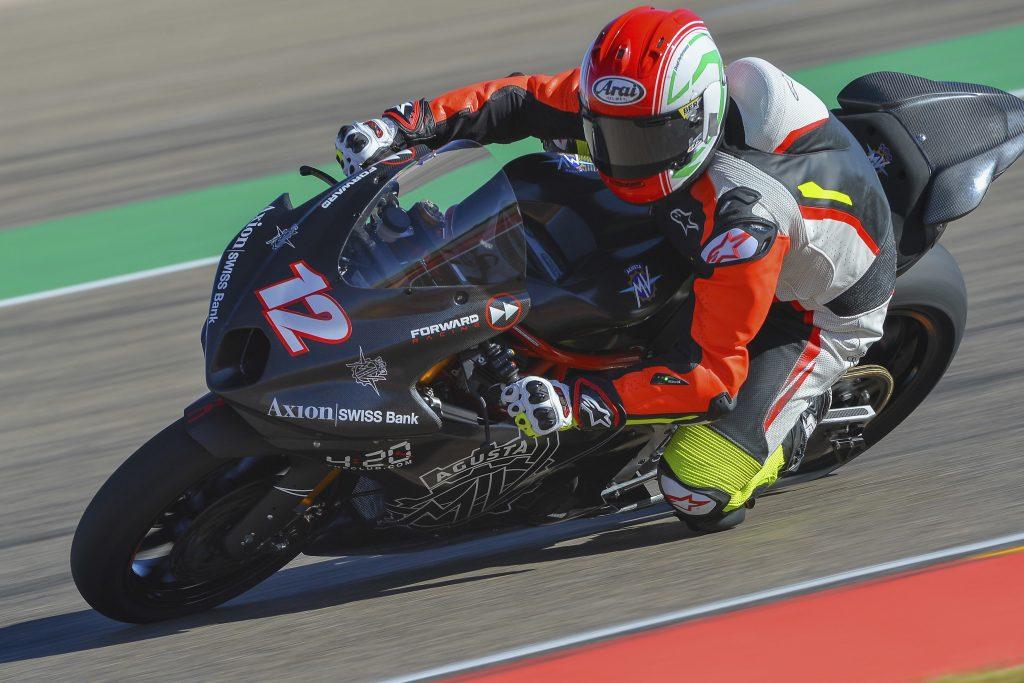 Moto2 | La MV Agusta scende in pista ad Aragon con Lanzi