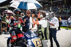 Moto2   Gp Misano: Ufficiale, Romano Fenati sospeso per i prossimi due Gran Premi