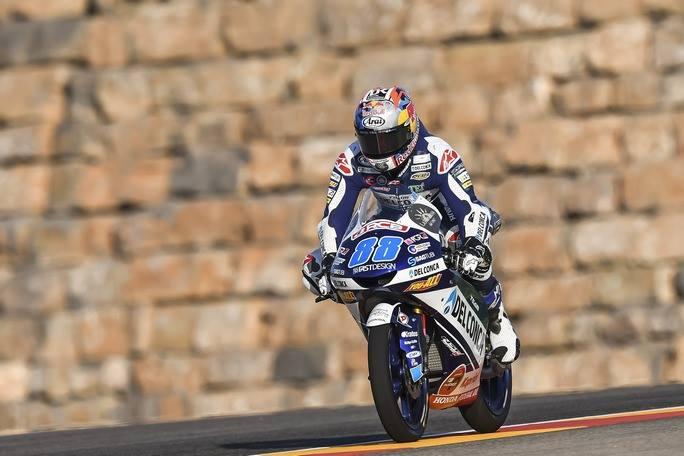 Moto3| Gp Aragon Qualifiche: Martin da record, Bezzecchi sesto